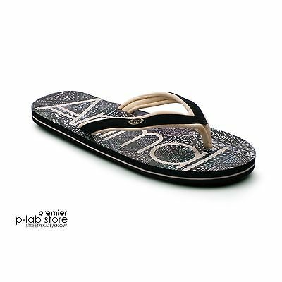 6d0229811fe239 Animal® Swish Slim Women s Black Flip Flops Sandals. Brand New on Sale