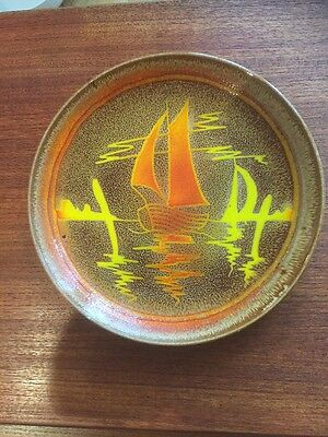 Poole Aegean Ship Plate. Lovely.