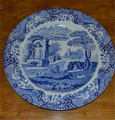 Spode Italian Blue Charger - x 4