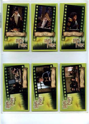 Harry Potter and the Sorcerer's Stone - Complete 80 Card Set + Checklist - 2001