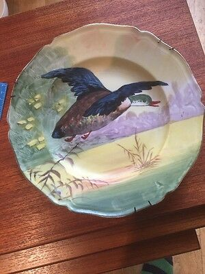 Limoges Hand Painted Charger