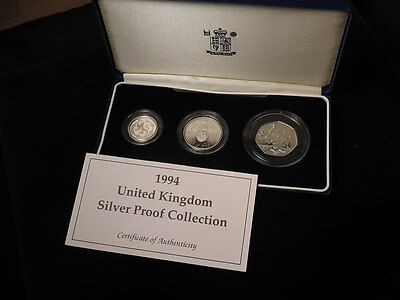 Royal Mint 1994 United Kingdom Silver Proof Collection