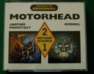 Motorhead Overkill Another Perfect Day 2 Cd Castle Set  Lemmy