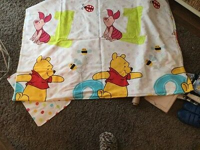 Single quilt cover set, winnie the pooh