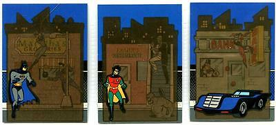 Batman and Robin, The Adventures Of - Thermal Dark Knight Set - Skybox  -1995