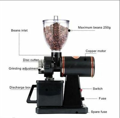 Electric Coffee Bean Grinder Household New Small Commercial Grinder V