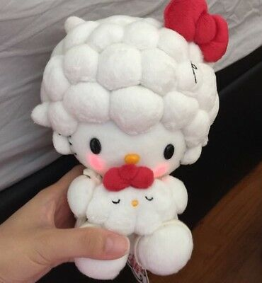 RARE LIMITED Hello Kitty Blushing Plush, Limited Sale Item From Kitty Lab Event