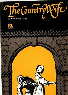 The Country Wife - 1970s National Theatre program