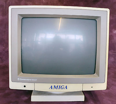 Vintage Commodore 1084ST Monitor Good Condition