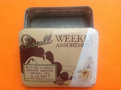 Pascal Weekly Assortment Sweet Tin., No Contents