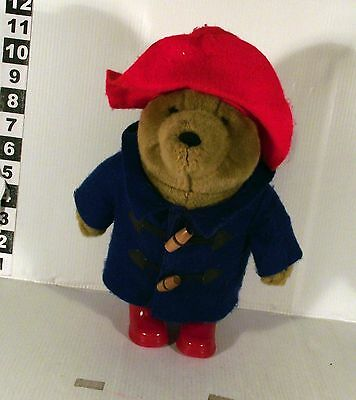 "10"" Paddington Bear Soft Toy With Red Welly Wellington Boots"