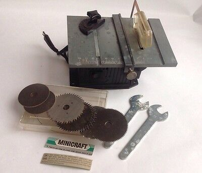 MINICRAFT PRECISION CIRCULAR SAW TABLE MB 410 model Craft Some Staines
