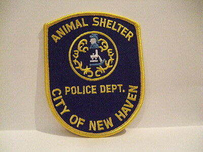 police patch  NEW HAVEN ANIMAL SHELTER POLICE CONNECTICUT