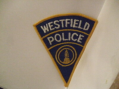 police patch  WESTFIELD    POLICE CONNECTICUT