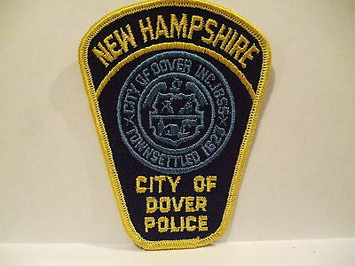 police patch  CITY OF DOVER POLICE NEW HAMPSHIRE