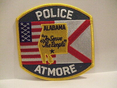 police patch ATMORE POLICE  ALABAMA