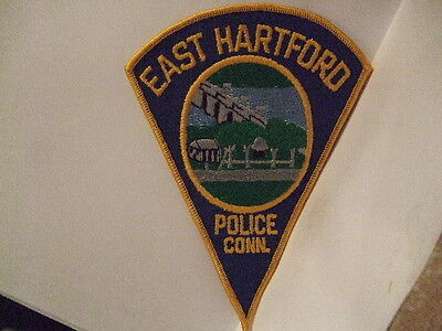 police patch  EAST HARTFORD   POLICE CONNECTICUT