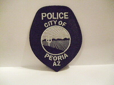 Police Patch City Of Peoria Police Arizona  Subdued
