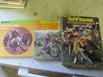 3 X Classic Motorcycle Books , Off Road