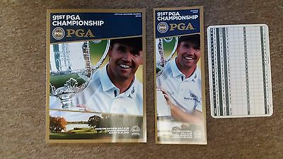USPGA PROGRAMME 2009 with Padraig Harrington on cover
