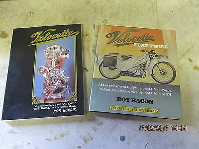 2 X Classic Motorcycle Books , Velocette