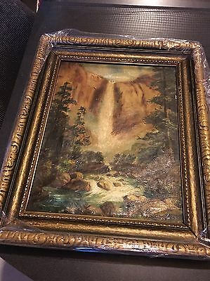Old Unsigned - 19th Century Canadian Or Hudson River School American Painting