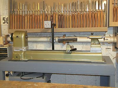 """Powermatic Wood Lathe.  18"""" x 36"""".  Electronic Variable Speed.  Excellent"""