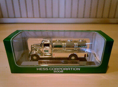 HESS 2006 Chrome/Silver Special Edition Mini Hess Truck