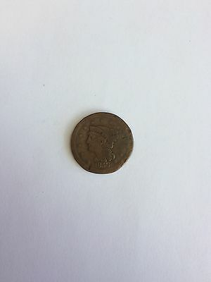 1856 USA 1 Large Cent, Liberty Head