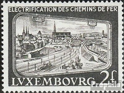 Luxembourg 558 (complete issue) unmounted mint / never hinged 1956 Railway