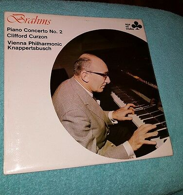 Brahms Piano Concerto No.2 Clifford Curzon LP Record ACL 320 Mono