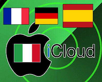 iCloud Remove Iphone 7/7+/6S/6S+/SE/6/6+ SPAIN - GERMANY - ITALY - FRANCE