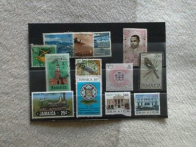 Jamaica - Small Selection of Stamps Issued From 1964 Onwards