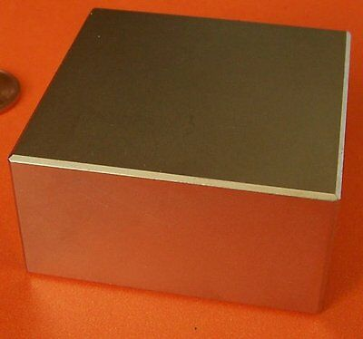 """Applied Magnets Super Strong N52 Neodymium Magnet 2 x 2 x 1"""" Block"""