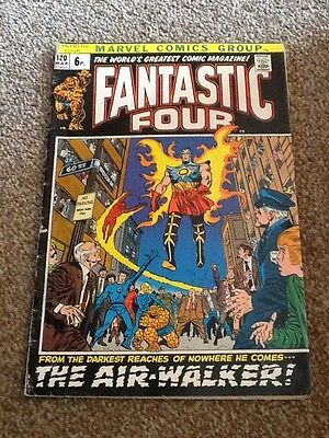 Fantastic Four The Air Walker Comic Number 120 March 72