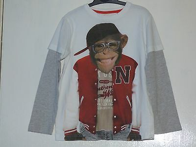Boys Next Monkey Glasses Top Age 6 Years