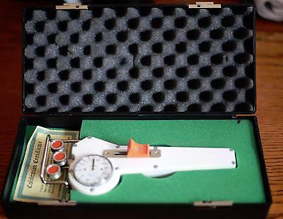 Electromatic Check-Line Tension Meter Dxx-40- Grams In Orig. Padded Box Instruct