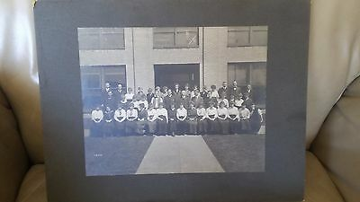1915 Russell Grader Manufacturing Company Employee Photo Minneapolis MN
