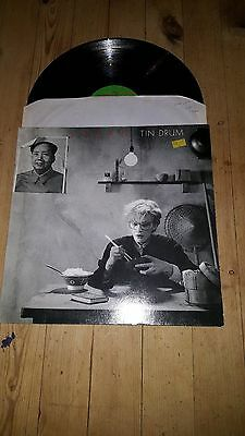 Japan - Tin Drum Original Vinyl LP - EX/EX 1st UK Press