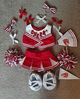 Build a Bear cheerleading outfit - excellent condition