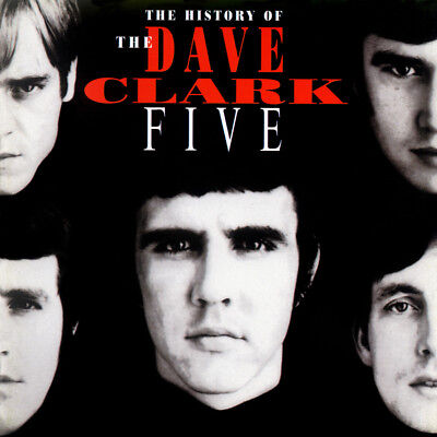 """Album Covers - Dave Clark Five - The History Of (1993) Album Poster  24""""x 24"""""""