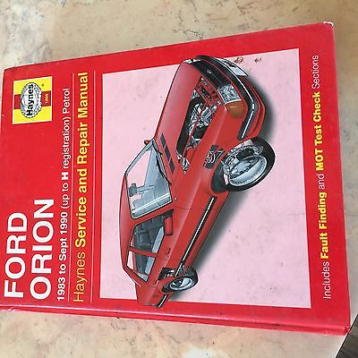 Ford Orion Haynes manual