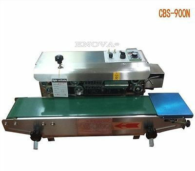 Sealing Machine New Automatic Continuous Film Inflating Nitrogen Sealer 220V C
