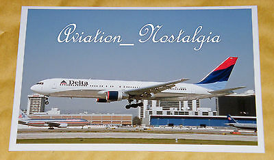 Delta Boeing 767-332 N124DE, LAX, March 2002, Aviation Aircraft