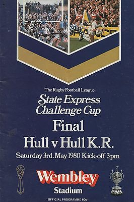 1980 Hull v Hull Kingston Rovers