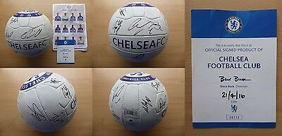 2015-16 Chelsea Official Football Signed by Squad with Official COA (10071)