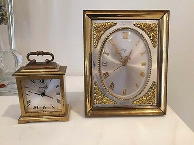 2 SWIZA Swiss-Made Clocks - Antique Clock