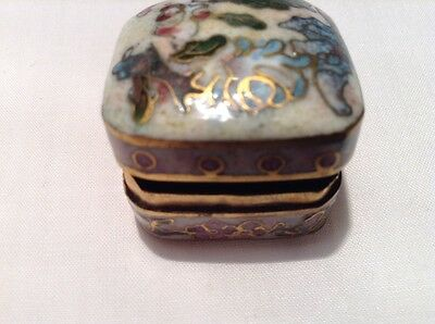 Vintage Small Chinese Pill Box