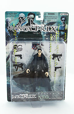 "Keanu Reeves Signed Autographed ""Matrix"" Neo 6"" Figure"