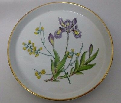 """New Spode Stafford Flowers Shortbread / Flan Dish 71/4"""" Fluted Round"""